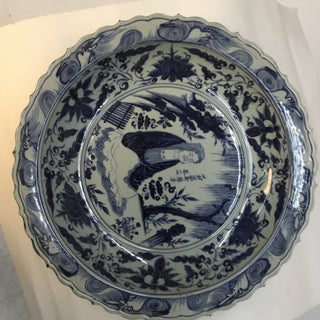 Antique Japanese Blue and White Charger Preview