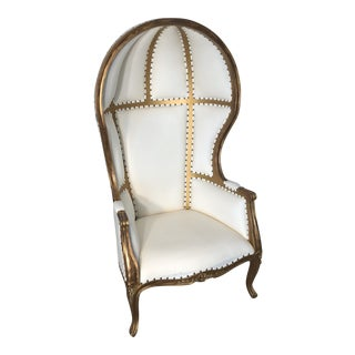 French Style Dome / Balloon Chair For Sale