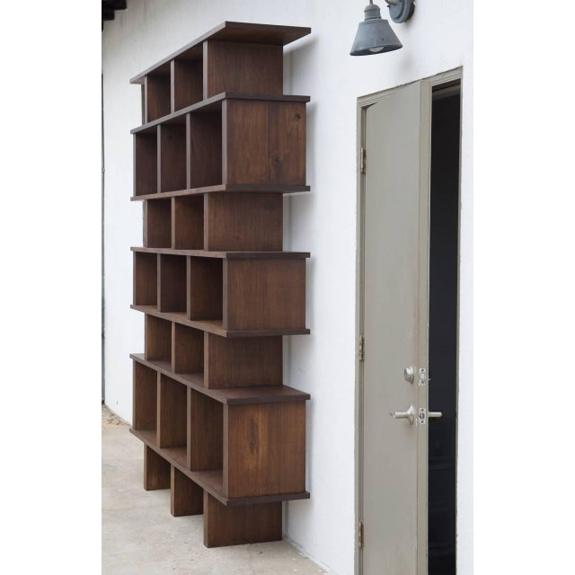 "Modern Contemporary Design Frères Tall ""Verticale"" Shelving Unit For Sale - Image 3 of 10"