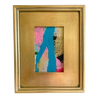 "Jessalin Beutler ""Fork in the River"" 2021 Framed Mini Painting For Sale"