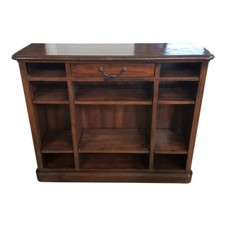 Bernhardt Tobacco Wood Console Table