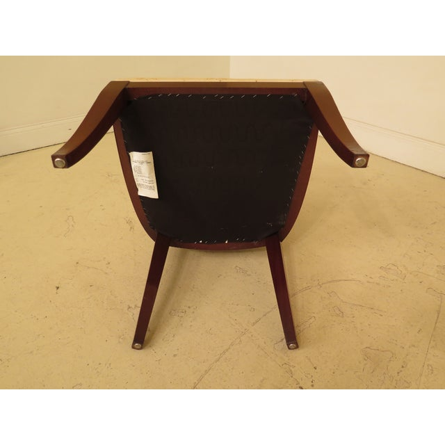 1990s Vintage Kindel Regency Mahogany Dining Room Chairs- Set of 8 For Sale - Image 11 of 13