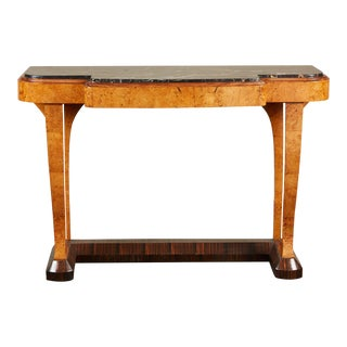 20th Century French Art Deco Console For Sale