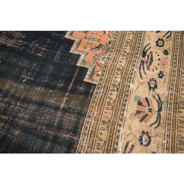 "Antique Doroksh Carpet - 14'6"" X 26'3"" For Sale In New York - Image 6 of 11"