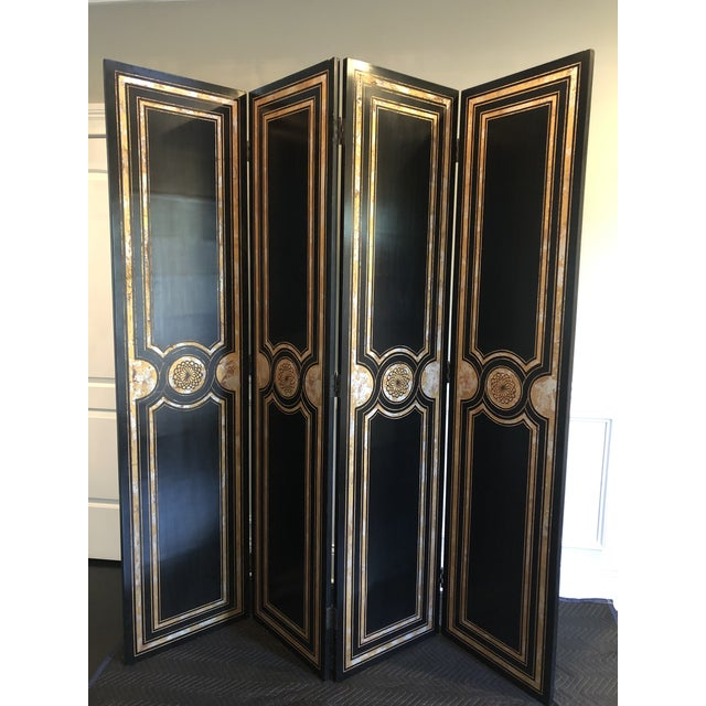 Maitland Smith Hollywood Regency Style Room Divider For Sale - Image 12 of 12
