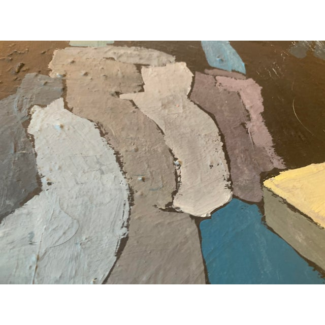 Paint Abstract Still Life With Vessels by Illsley 66 For Sale - Image 7 of 12