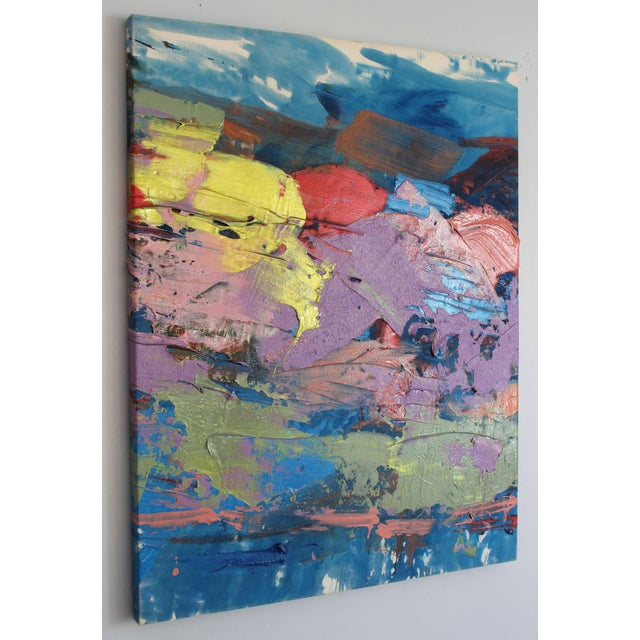 Modern Francine Tint Untitled Oil Painting For Sale - Image 3 of 6