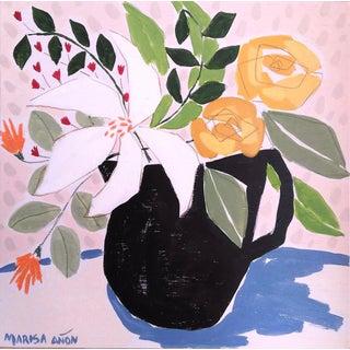 April Florals 3 Original Painting by Marisa Añón. For Sale