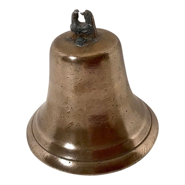 Mid 20th Century Vintage Brass Bell For Sale