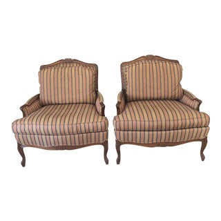 Taylor King Bergere Chairs - A Pair