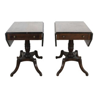1940s Duncan Phyfe Style Side Tables For Sale