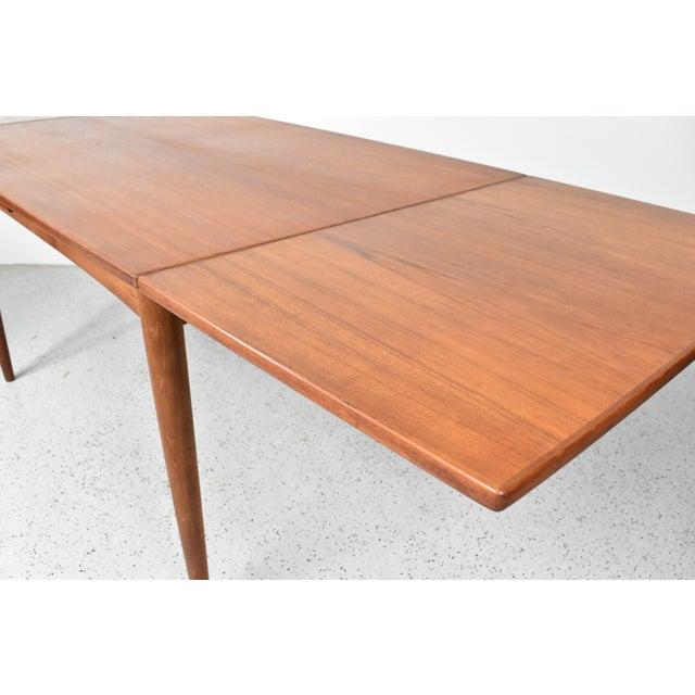 Mid-Century Skovmand Andersen Teak Dining Table For Sale - Image 5 of 8