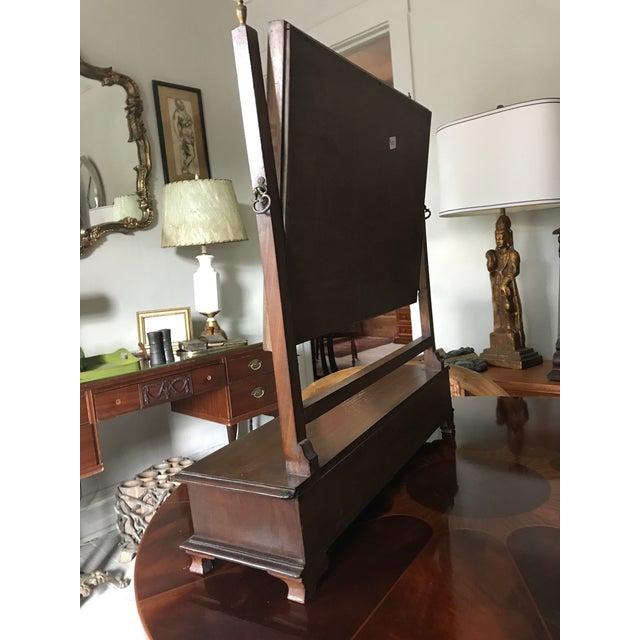 Gentleman\'s Vanity With Pivoting Mirror | Chairish