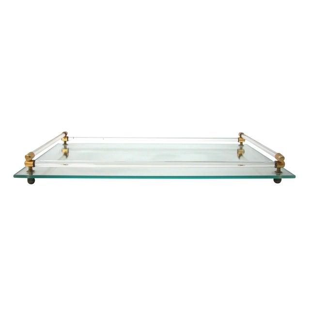 Glass Mirrored Vanity Tray - Image 1 of 9