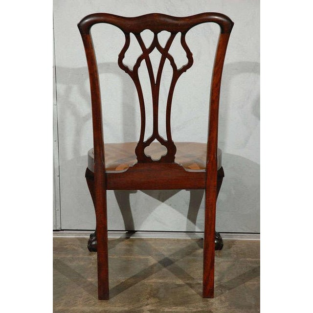 Chippendale Style Side Chairs - Set of 6 - Image 3 of 8