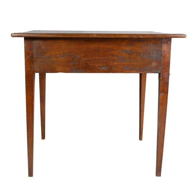 Brown George III Walnut Table For Sale - Image 8 of 10