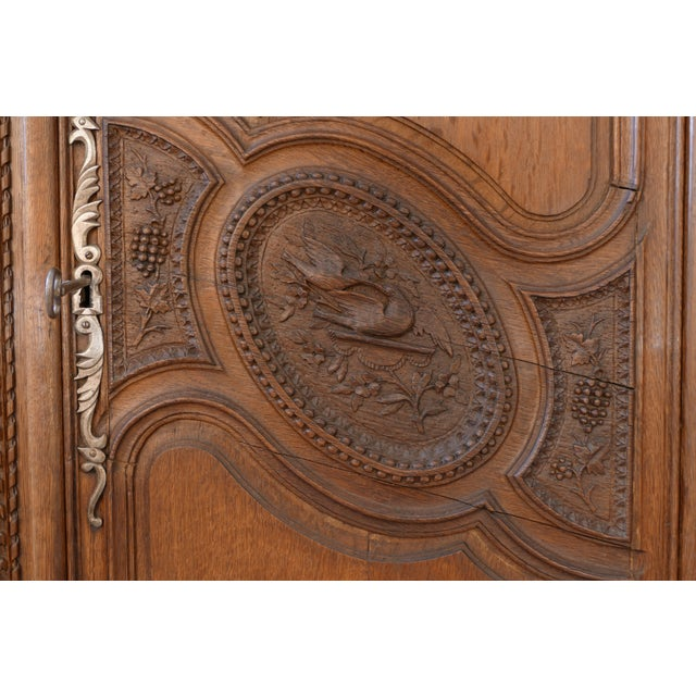 French Wedding Armoire - Image 3 of 7