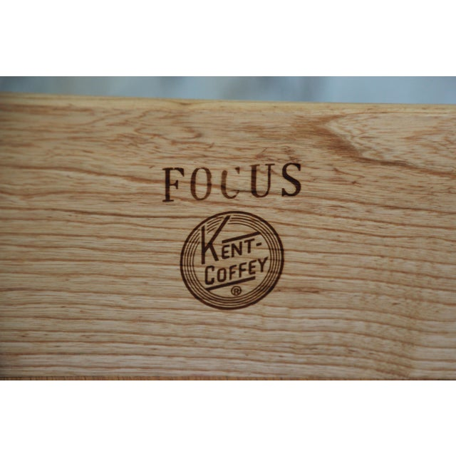 "Kent Coffey ""Focus"" Mid-Century Modern Highboy Dresser For Sale - Image 9 of 9"