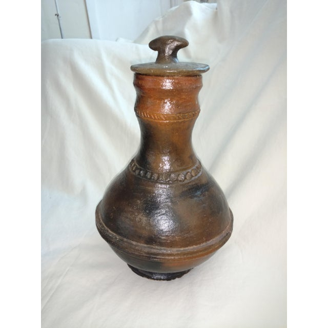 1940s Anglo Indian Terra Cotta Jug For Sale In Sacramento - Image 6 of 6