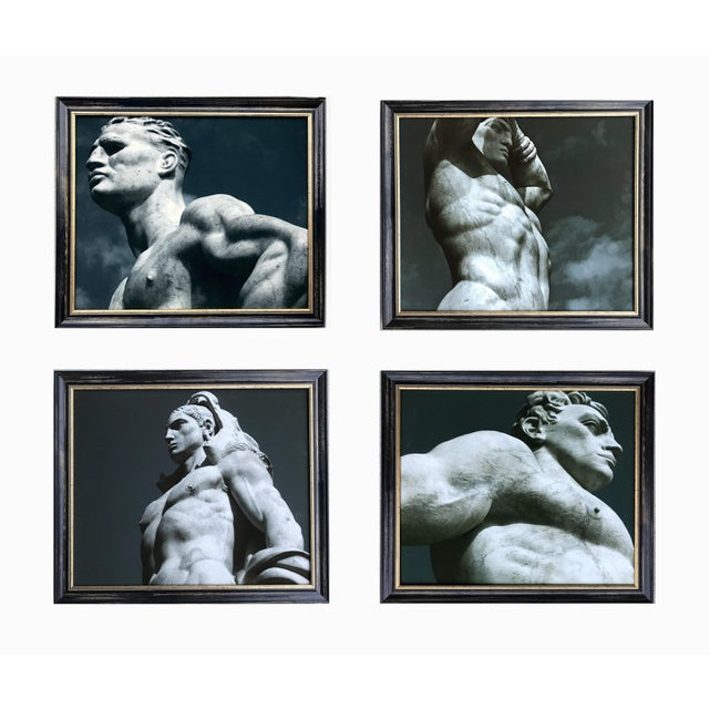 Photography James White Statuary at the Stadio Dei Marmi, Rome Photograph For Sale - Image 7 of 8