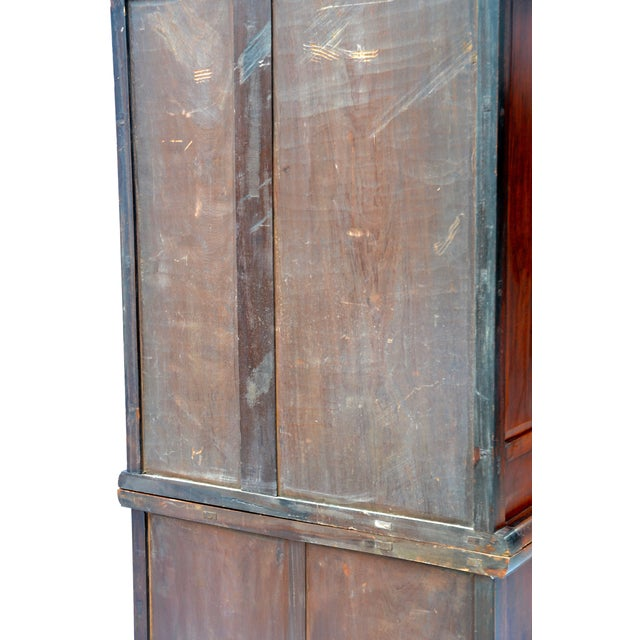19th Century Chinese Camphor Wood Cabinet For Sale - Image 11 of 12