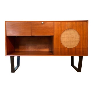 1950s George Nelson for Herman Miller Primavera Music Phono Console Credenza For Sale