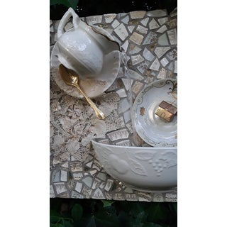 Tea Set Mosaic Wall Fountain Preview