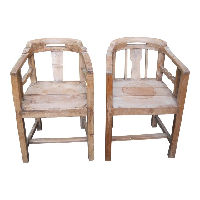 Fantastic Indian Colonial Art Deco Teak Chairs A Pair Pdpeps Interior Chair Design Pdpepsorg