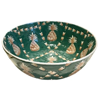Chinese Pineapple Motif Bowl For Sale