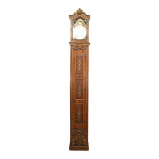 French Louis XV Grandfather Clock For Sale