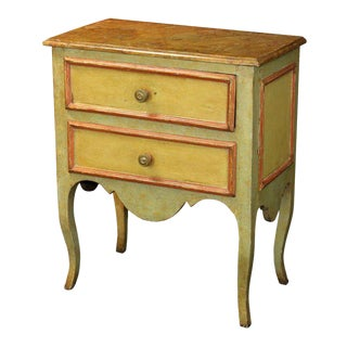 Diminutive Painted Italian Commode For Sale