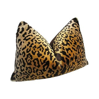 Scalamandre Leopardo Silk Velvet Pillow Preview