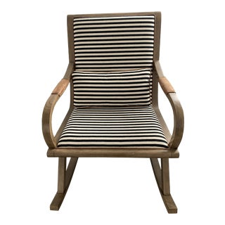 Crate & Barrel Bakersfield Rocking Chair For Sale