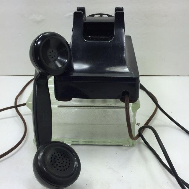 1950 2-Line Telephone WE Model 440EG Black - Image 5 of 8