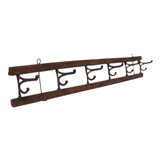 Vintage Mounted Coat Rack