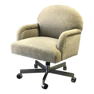 1980s Vintage A. Rudin Executive Office Chair For Sale