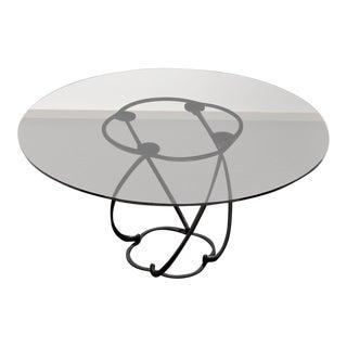 Steel & Glass Lotus Table