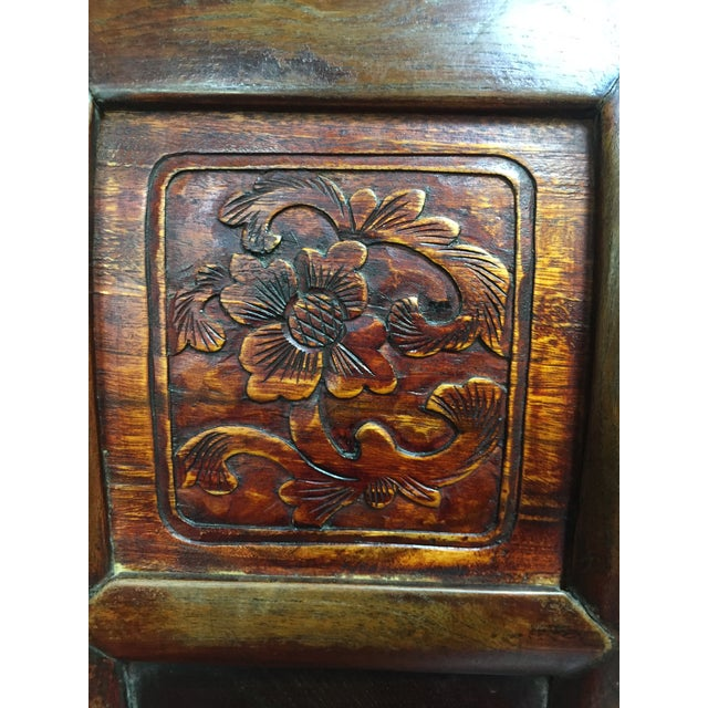 Late 19th Century Antique Chinese Gaming Table & Chairs- 5 Pieces For Sale - Image 10 of 13