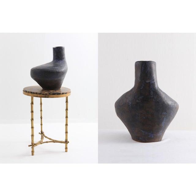 Mid-Century Modern Italian Ceramic Vase For Sale - Image 4 of 11