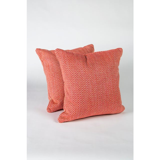 """22"""" Schumacher Orwell Pillows, Pair For Sale In Raleigh - Image 6 of 6"""