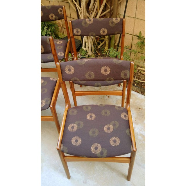 Anderstrup Mobelfabrik Danish Modern Teak Dining Chairs - Set of 6 - Image 5 of 6