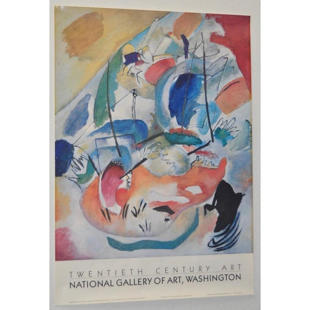 Wassily Kandinsky National Gallery of Art Exhibition Poster - Image 2 of 7