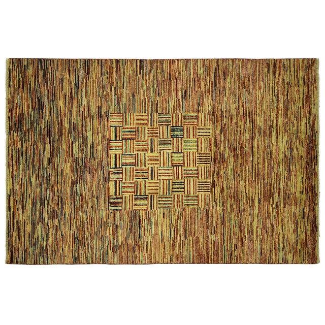Kashkuli Lori Buft Gabbeh Multicolor Rug - 4' x 6' - Image 1 of 9