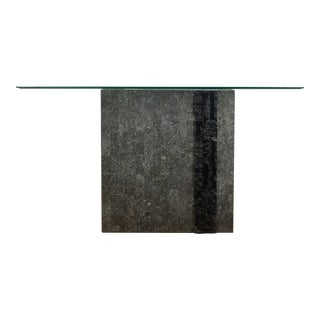 Maitland-Smith Tessellated Stone Console Table