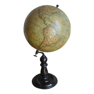 Early 20th Century French Globe