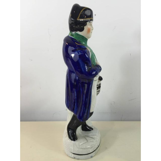 Staffordshire Figure of Napoleon For Sale - Image 5 of 6