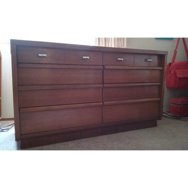 Cavalier Mid-Century Modern Dresser W/ Mirror - Image 9 of 10