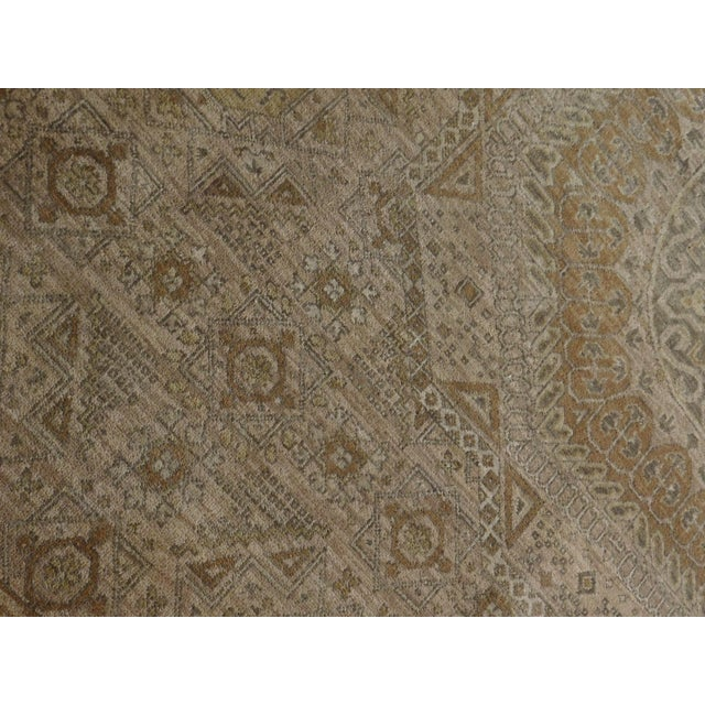 "Mamluk Hand-Knotted Luxury Rug - 7'10"" x 7'11"" For Sale - Image 9 of 10"