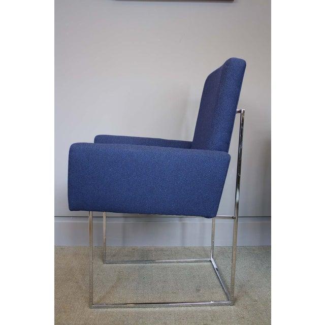 Milo Baughman Thayer Coggin High Back Armchair - Image 3 of 5