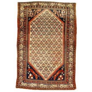 "Persian Pasargad N Y Antique Malayer Rug - 4'3"" X 6'4"""
